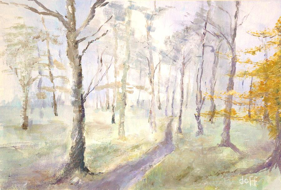 Epping Forrest Painting by David  Hawkins