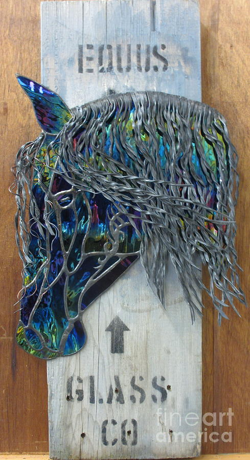 Horse Glass Art - Equus Glass Co. by Sherri Anderson