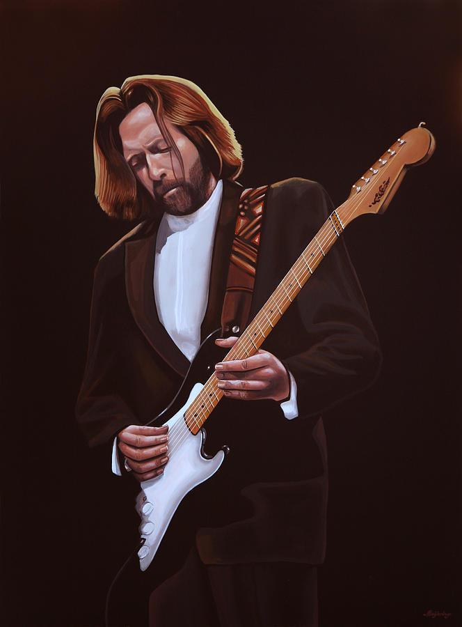 Eric Clapton Painting - Eric Clapton Painting by Paul Meijering