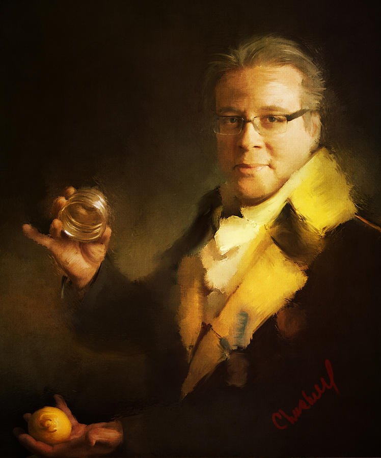 Magician Digital Art - Eric Decamps by Thomas Churchwell
