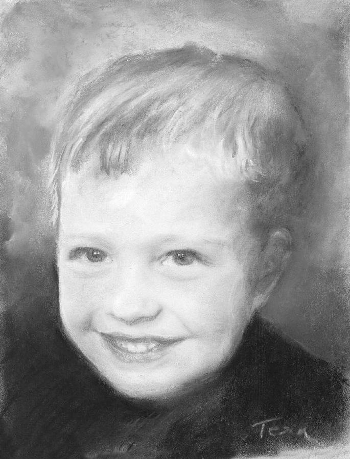Portraits Drawing - Eric by Sue Tesin