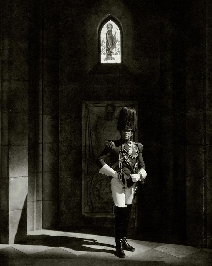 Erich von Stroheim In The Wedding March Photograph by Edward Steichen
