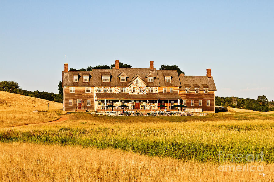 Clubhouse Photograph - Erin Hills Clubhouse by Scott Pellegrin