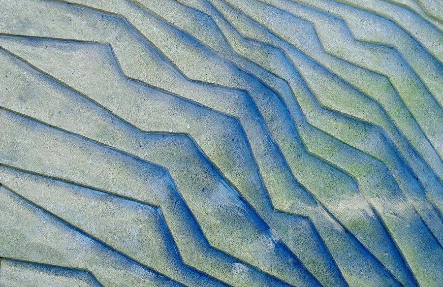 Abstract Mixed Media - Erosion by Daniel Marlatt