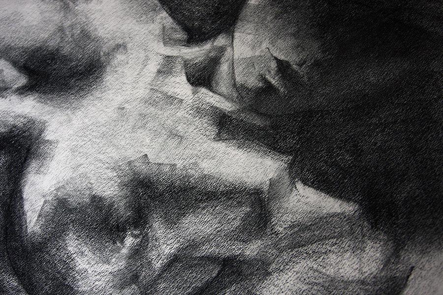 Erotic Drawing - Erotic Sketchbook Page 1 by Dimitar Hristov