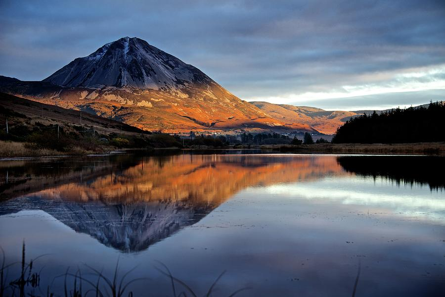Errigal Photograph by Trevor Cole Alternative Visions Photography