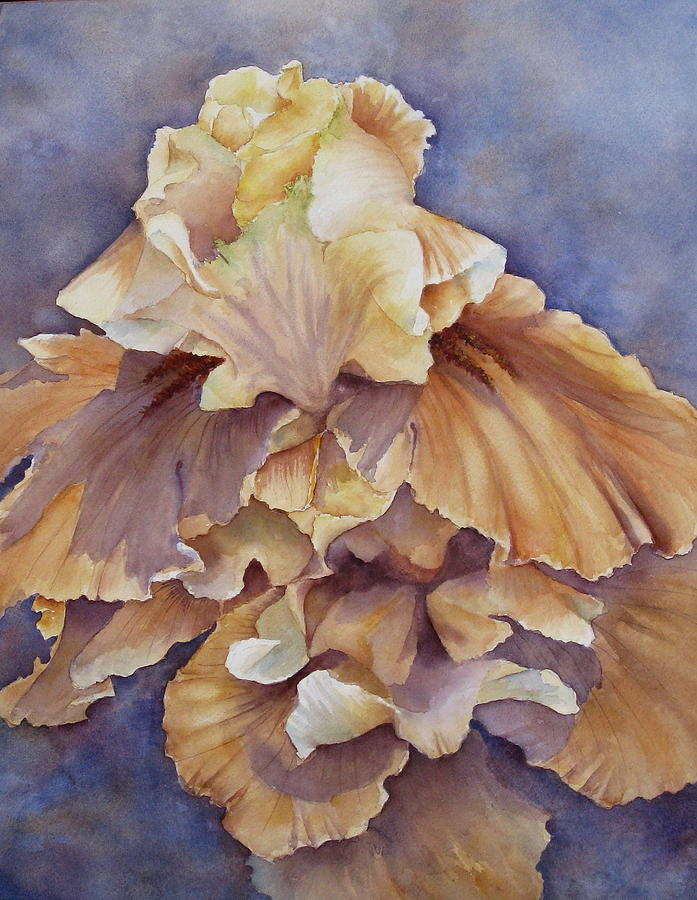 Flower Painting - Eruption II--flower Of Rebirth by Mary McCullah