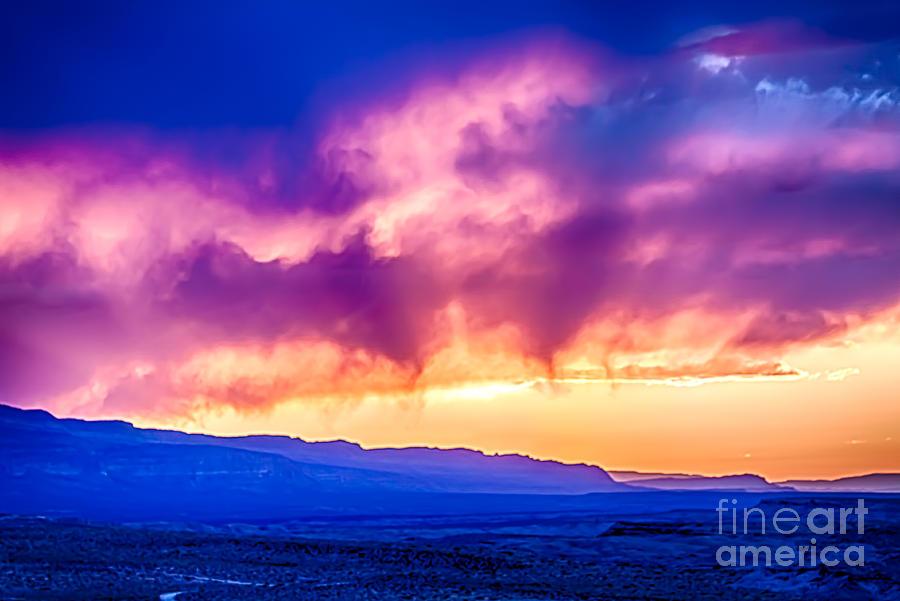 Sunset Photograph - Escalante Sunset 3 by Scotts Scapes