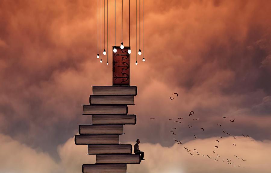 Books Photograph - Escale by David Senechal Photographie