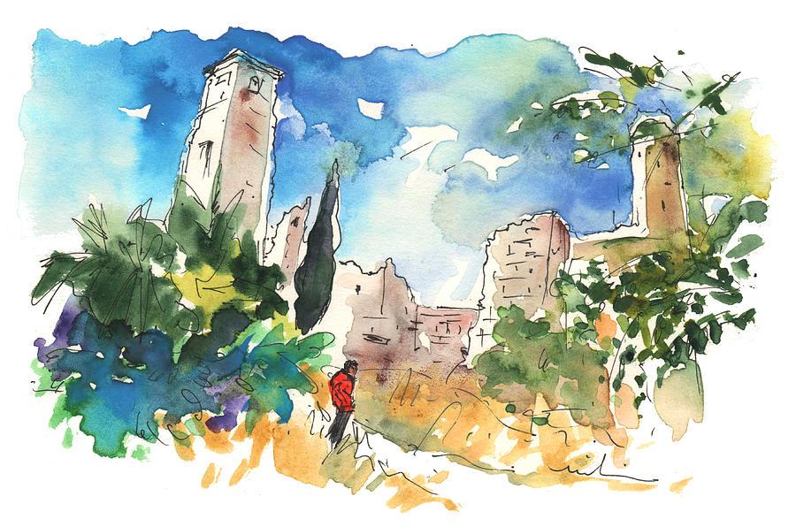 Travel Painting - Escalona 03 by Miki De Goodaboom