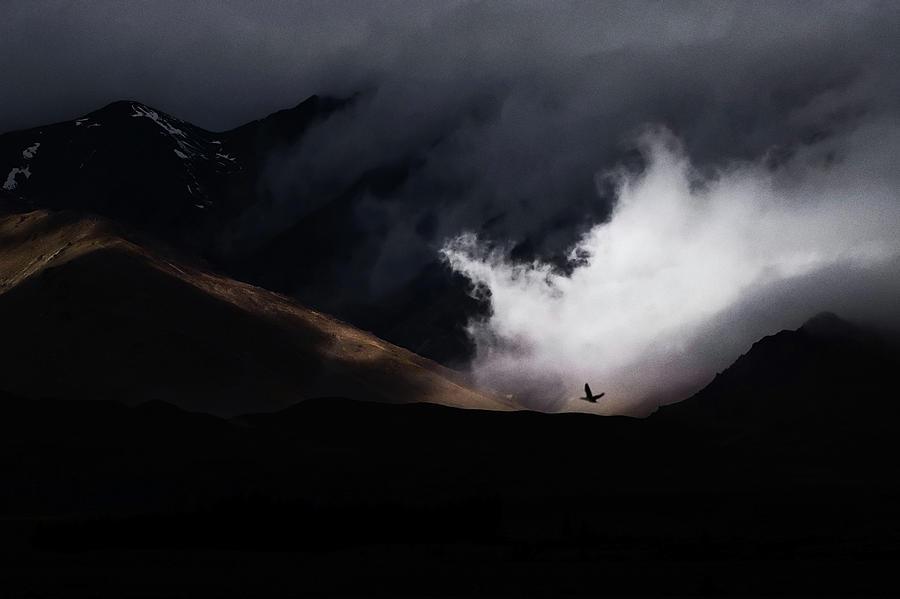 Mountain Photograph - Escape by Artfiction (andre Gehrmann)