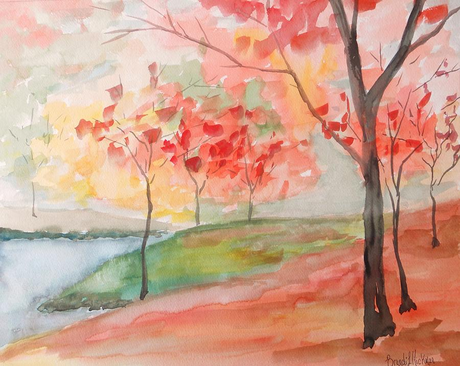 Autumn Painting - Escape by Brandi  Hickman