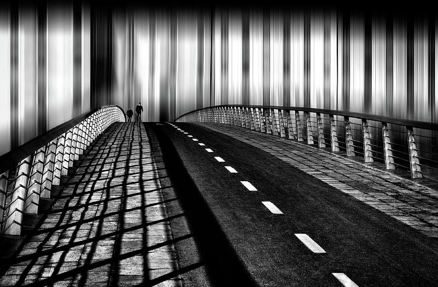 Bridge Photograph - Escape From The City by Samanta Krivec