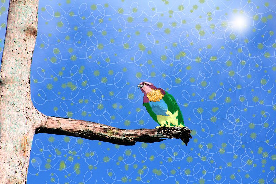 Bird Photograph - Escape Reality by Rosalie Scanlon
