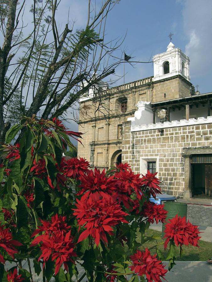 Antigua Photograph - Escuela De Cristo Church Antigua by Kurt Van Wagner