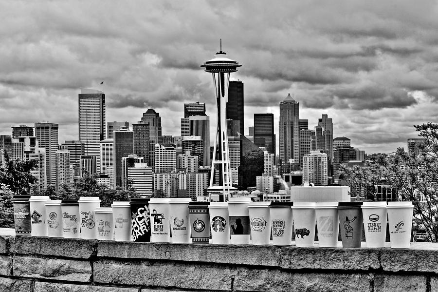 Seattle Photograph - Espresso City by Benjamin Yeager