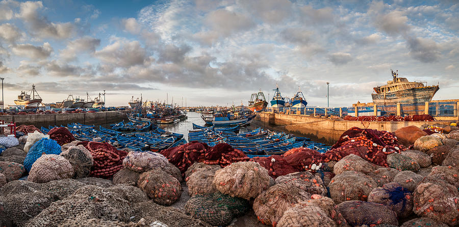 500px Photograph - Essaouira Harbour by Michael Avory