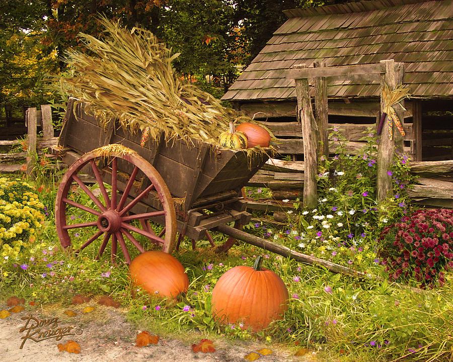 Essence Of Autumn  Digital Art by Doug Kreuger