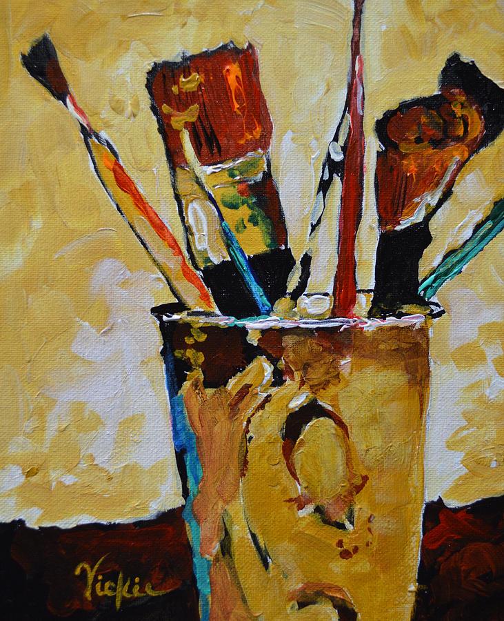 Brush Painting - Essential Elements by Vickie Warner