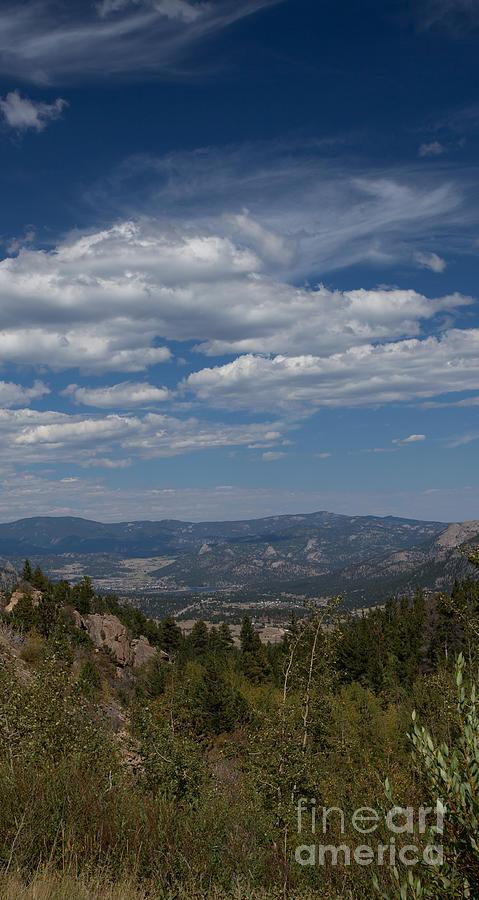 Colorado Photograph - Estes Park In The Valley by Kay Pickens