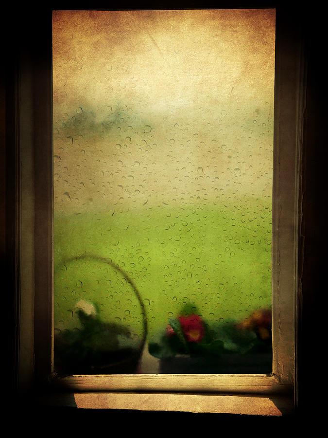 Rain Photograph - Et Peu A Peu Les Flots Respiraient Comme On Pleure by Taylan Apukovska