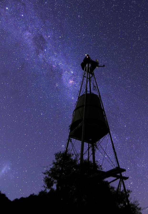 Coalsack Nebula Photograph - Eta Carina Nebula And Water Tower by Luis Argerich