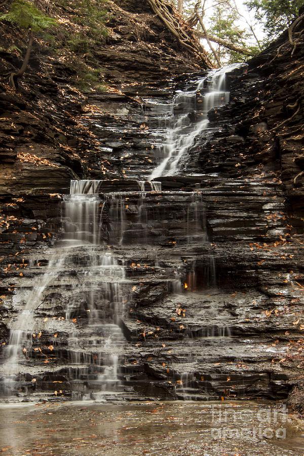 Waterfall Photograph - Eternal Flame Waterfalls by Darleen Stry