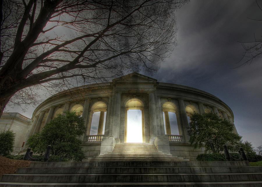Arlington National Cemetery Photograph - Eternal Life by Lori Deiter
