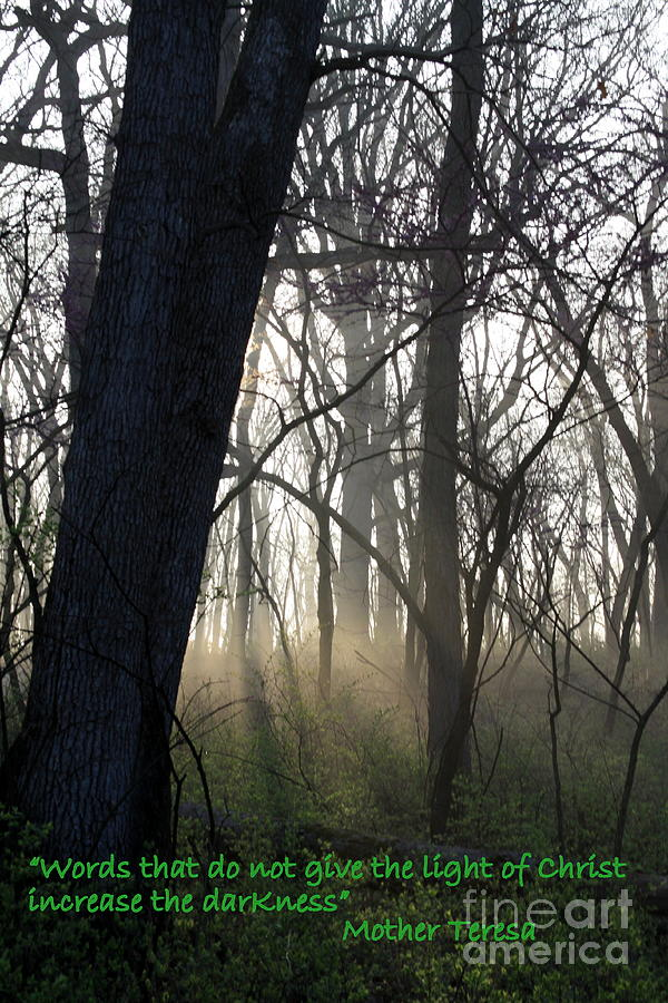Christianity Photograph - Eternal Light by Rick Rauzi