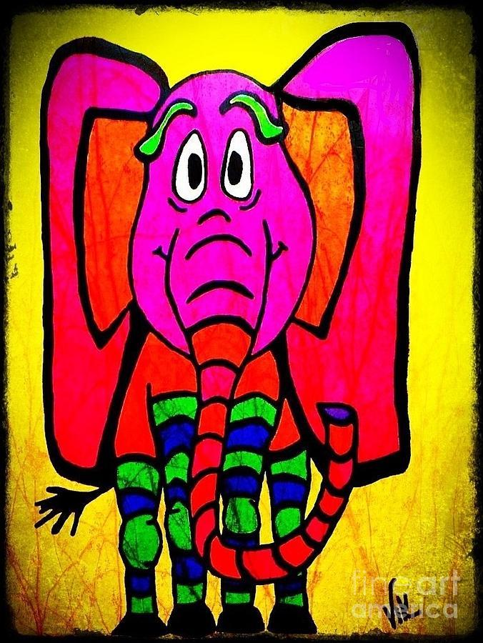 Ethel the Elephant by Vickie Scarlett-Fisher