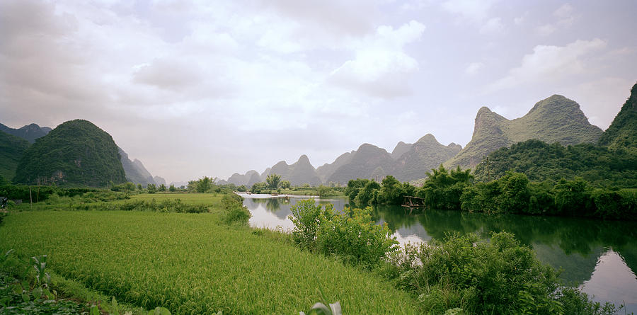 Guilin Mountains Photograph - Ethereal China by Shaun Higson