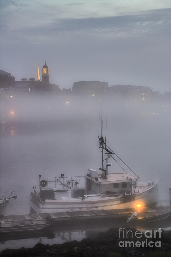 Portsmouth Nh Photograph - Ethereal Ebb Of Twilight by Scott Thorp