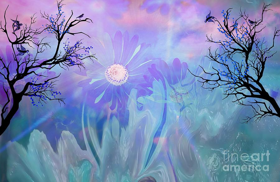Ethereal Painting - Ethereal Love by Sherris Of Palm Springs