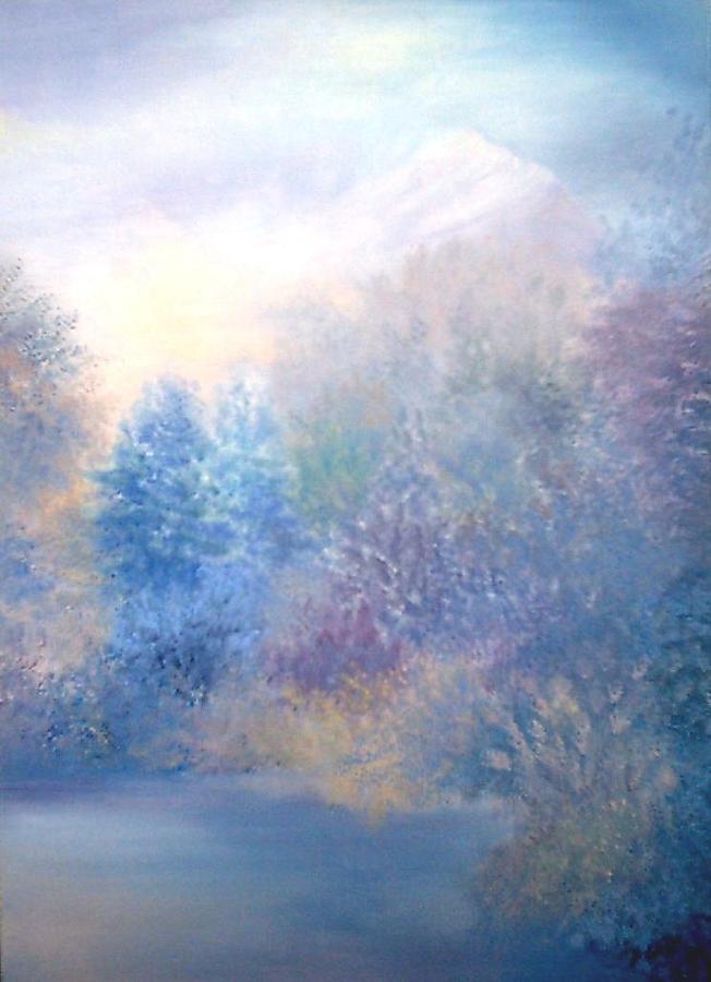 Nature Painting - Etherized by Jacqueline De Maillard