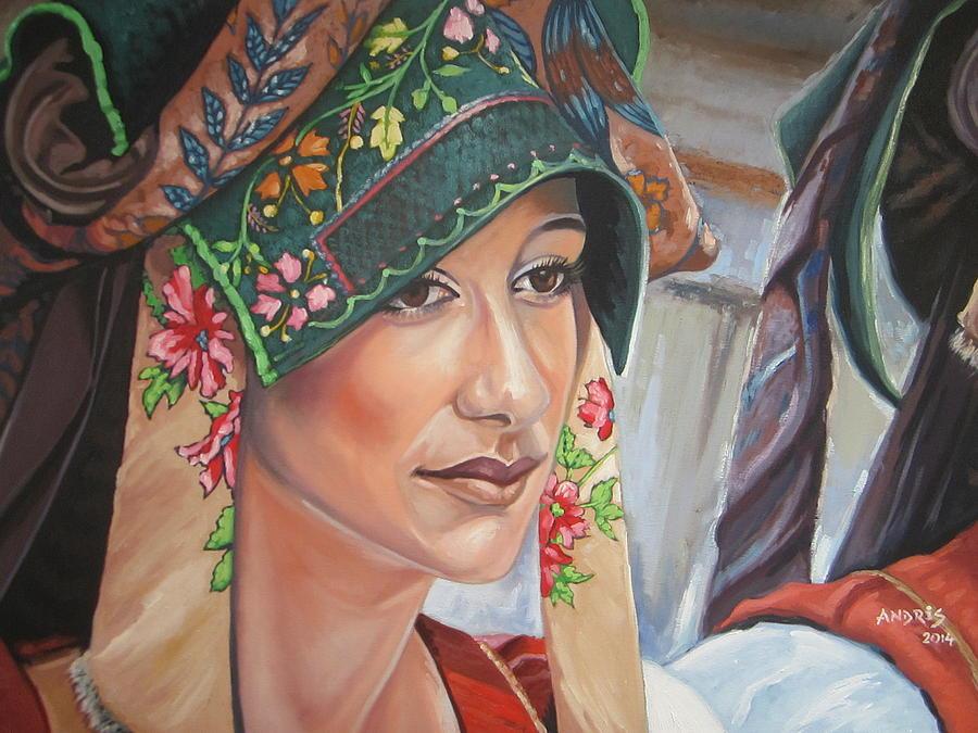 Sardinia Painting - Ethnicity by Andrei Attila Mezei