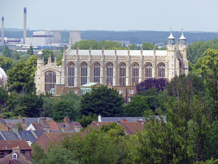 Windsor Photograph - Eton College Chapel by Tony Murtagh