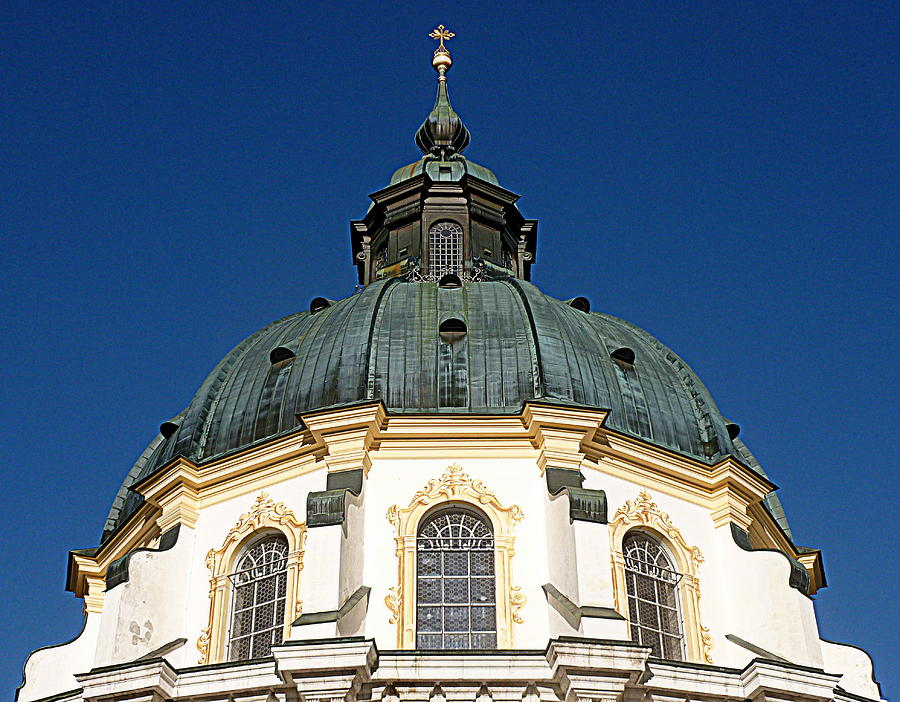 Abbey Photograph - Ettal Abbey Bavaria by The Creative Minds Art and Photography