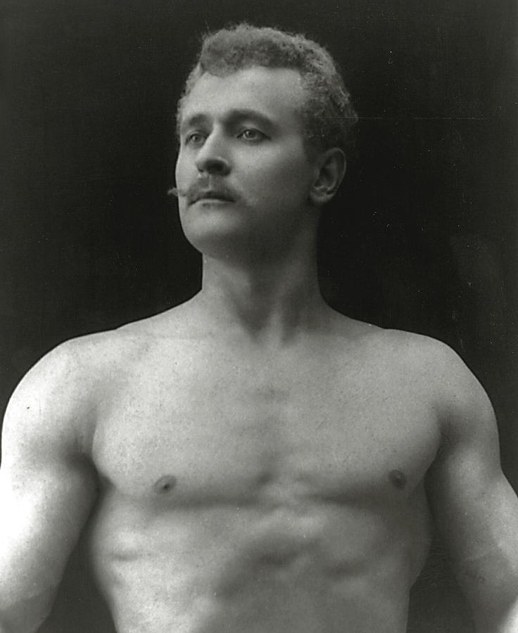 Male Photograph - Eugen Sandow by American Photographer