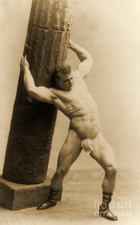 Circus Photograph - Eugen Sandow by American School