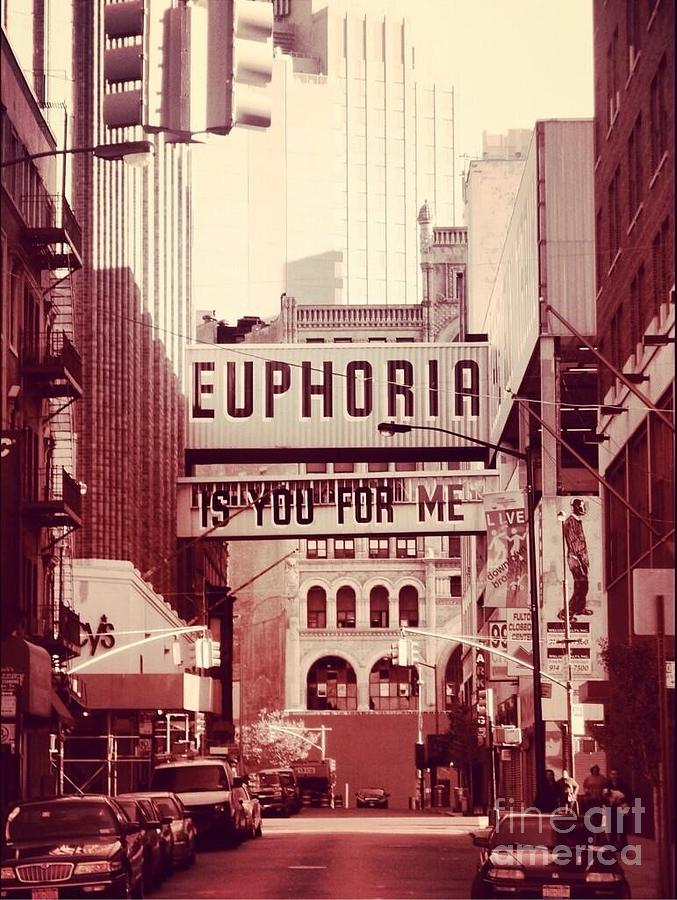 New York Photograph - Euphoria Is You For Me by Angie Gonzalez