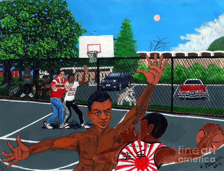 Park Painting - Eureka Park Throwback by Edward Fuller