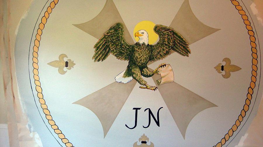Mural Painting - Evangelical John by Patrick RANKIN