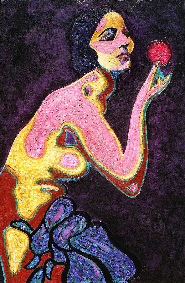 Eve And The Apple Painting by Gerhardt Isringhaus