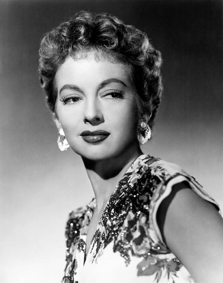 Evelyn Keyes, Ca. 1950 Photograph by Everett