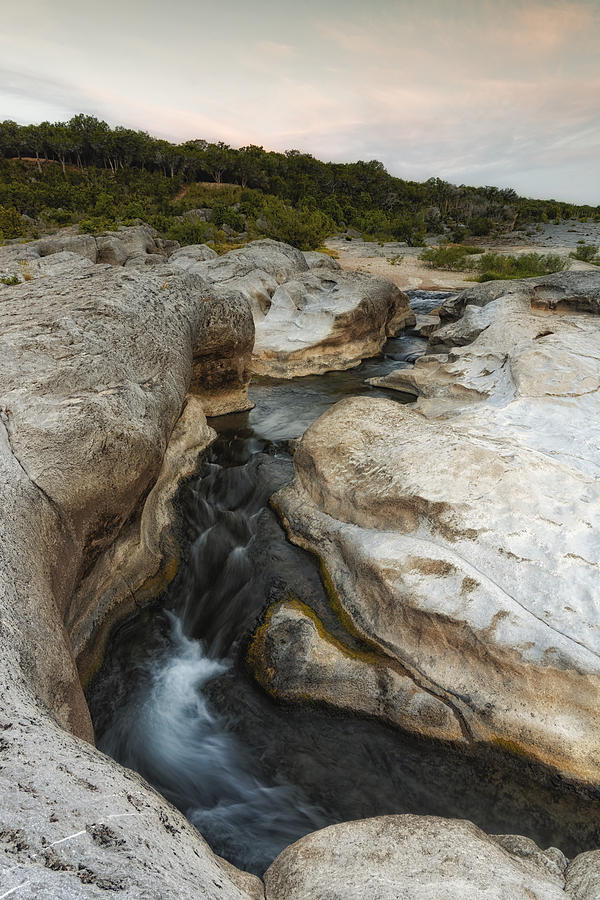 Pedernales Photograph - Even Flow At The Pedernales Texas Hill Country by Silvio Ligutti