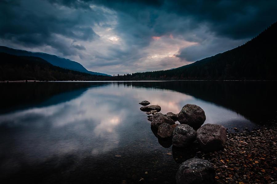 Cascade Mountains Photograph - Evening Approaches by Brian Xavier
