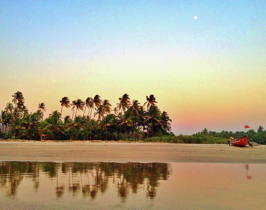 Evening At Goan Beach Photograph by Arvind Manjunath Photography