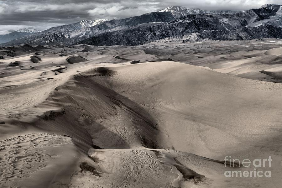 Great Sand Dunes National Park Photograph - Evening At The Dunes by Adam Jewell