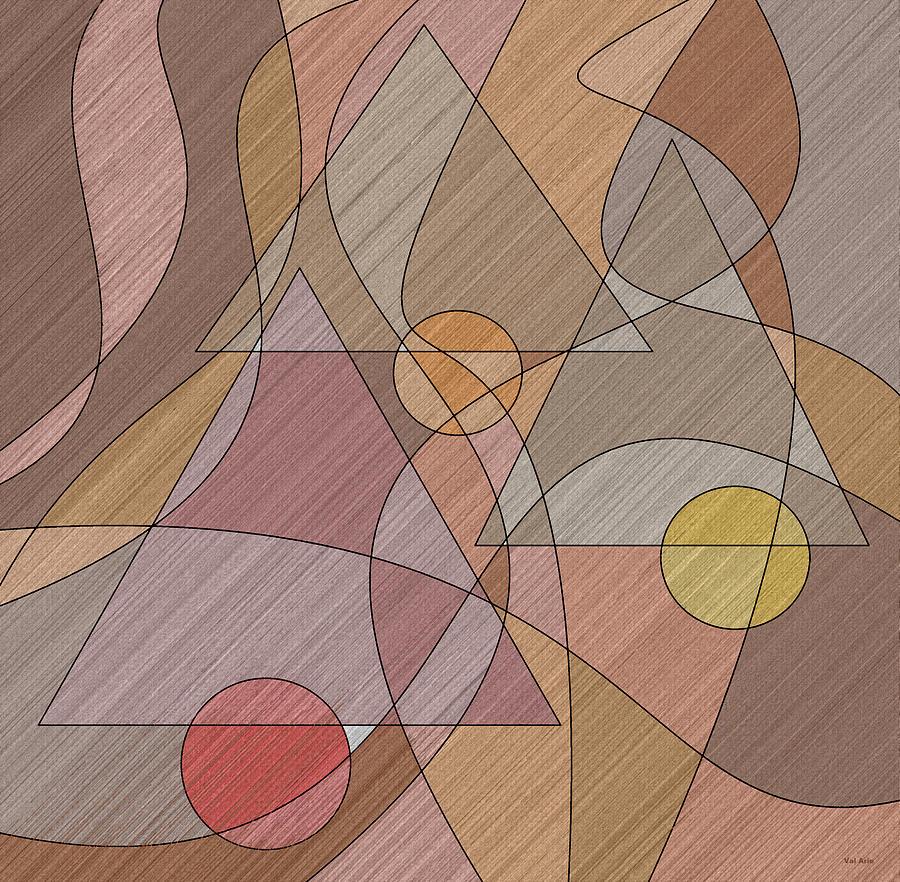 Bells Digital Art - Evening Bells by Val Arie