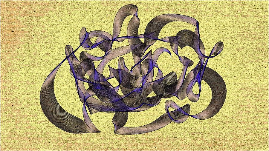 Evening Painting - Evening Flight by Marian Palucci-Lonzetta
